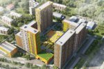 Рядом с ЖК «Петра Алексеева, 12А» завершена реконструкция шестиполосного шоссе